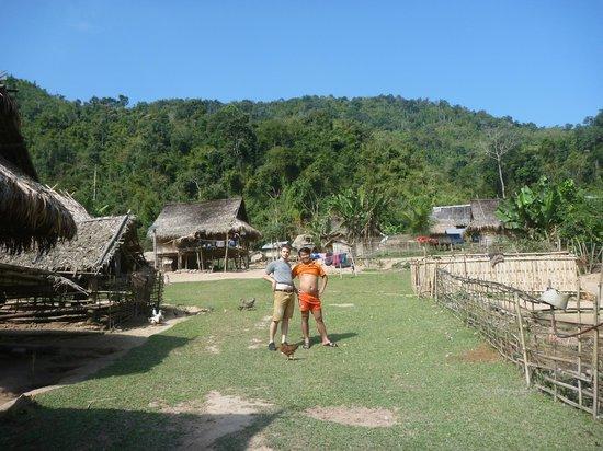 Luang Namtha Province, Laos: Ban Nalan Khmu homestay village