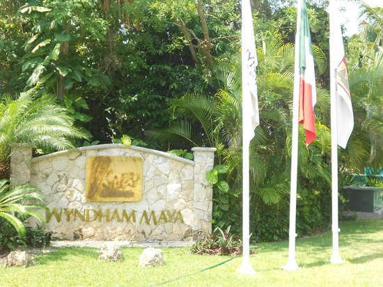 Viva Wyndham Maya : ENTRADA
