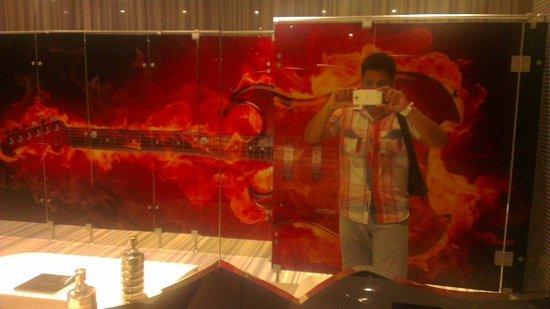 Hard Rock Hotel Panama Megapolis: Baño del Hard Rock