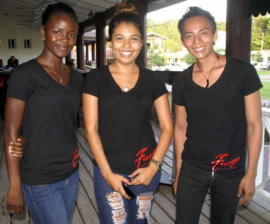 Fuego Bar & Grill: HOST AND WAITERS