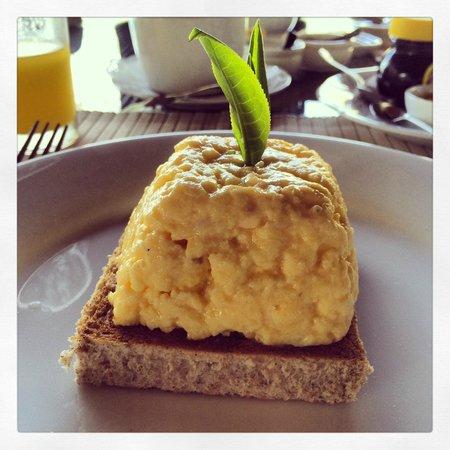 Ceylon Tea Trails - Relais & Chateaux : Scrambled eggs