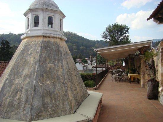 La Casona de Antigua: COMEDOR DE LA TERRAZA