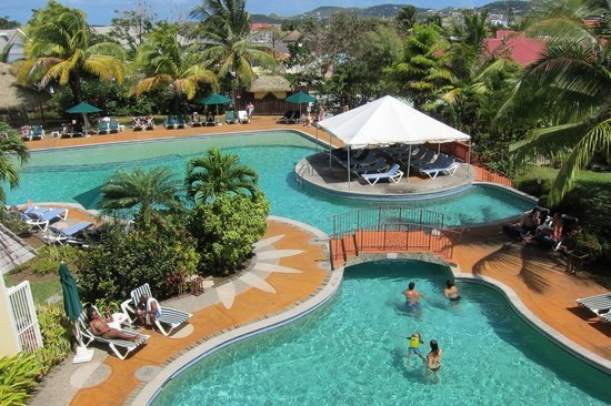 Coco Palm Resort: Pool view
