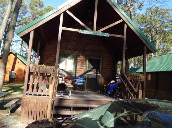 Frontier Town: Deluxe cabin