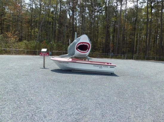 Frontier Town: JAWS on premises