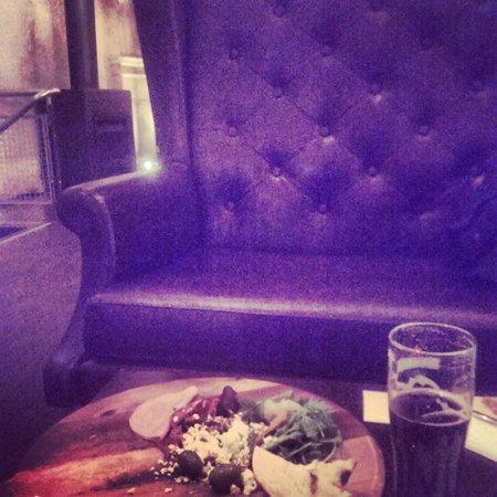 Pumphouse Bar & Restaurant: Sitting upstairs