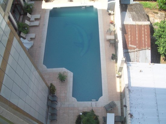 Martha Hotel: the swimmingpool downstairs