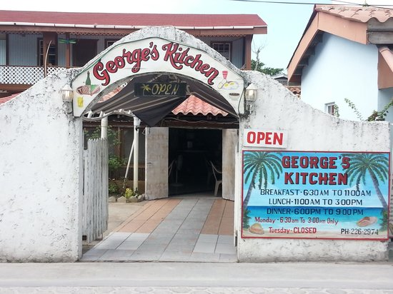 George's Kitchen: George's Entrance