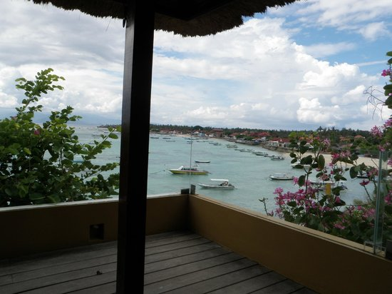 Batu Karang Lembongan Resort & Day Spa : view from restaurant