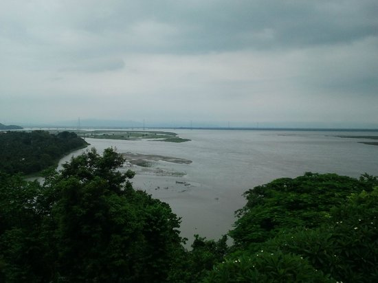 Agnigarh Hill: brahmaputra river view from Agnigarh