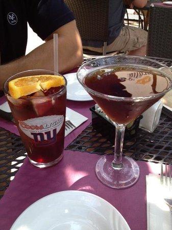 Smith Brothers : Sangria and Espresso Martini