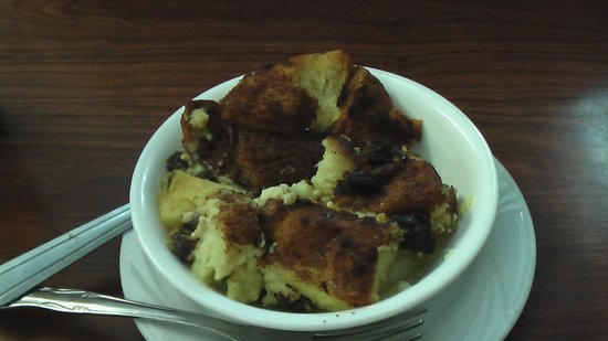 Top O Hill Restaurant : Bread Pudding