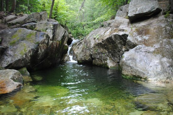AMC Cold River Camp : Hike to nearby Emerald Pool