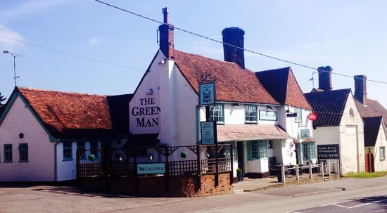 The Green Man Restaurant: Spring has arrived!