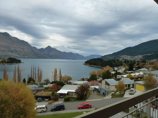 Earnslaw Lodge: View from our room