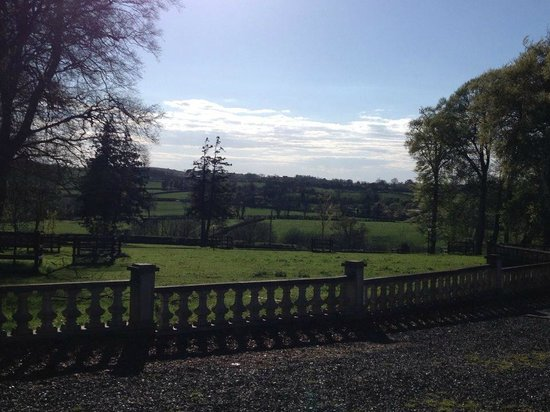 Dundrum House: View from our suite