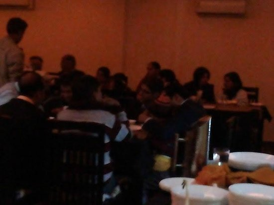 Sanskriti Restaurant: My clients @ dinner