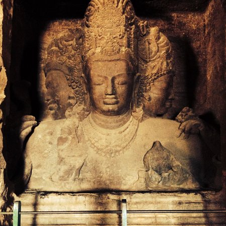 Elephanta Caves: Shiva!!!