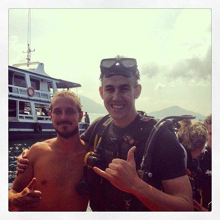 Simple Life Divers: James