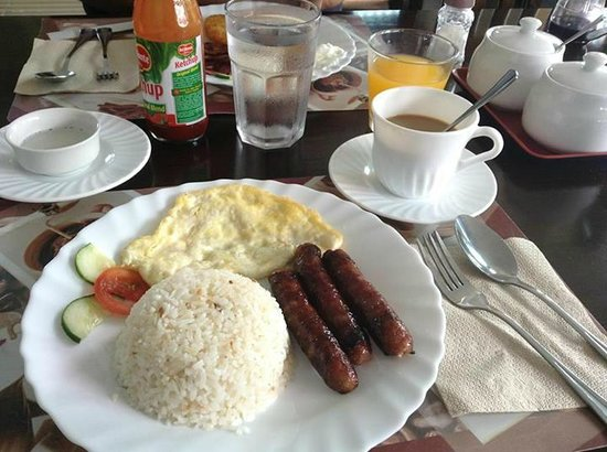 Tagaytay Wingate Manor : Free set breakfast