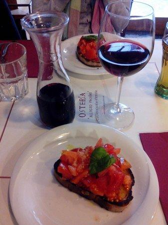 Osteria Allegro Pachino : bruschetta
