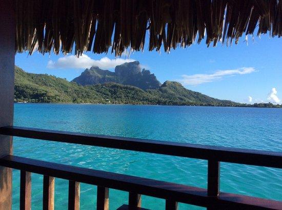 Sofitel Bora Bora Private Island : Vista dal bangalow