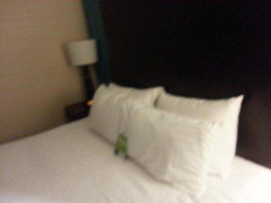 Hampton Inn by Hilton Winnipeg Airport/Polo Park: nice bed