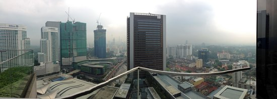 Aloft Kuala Lumpur Sentral: Panorama View from Rooftop Pool area
