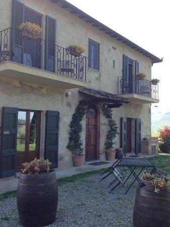 Ristorante della Fattoria Voltrona: Our villa