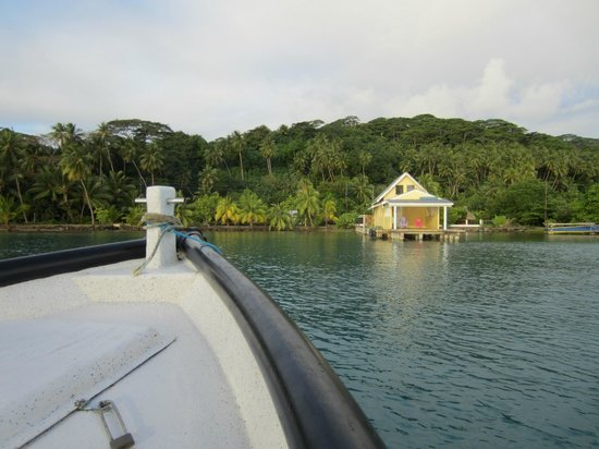 Pension Au Phil du Temps : Coming back from snorkeling