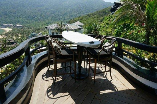 InterContinental Danang Sun Peninsula Resort : Terrace