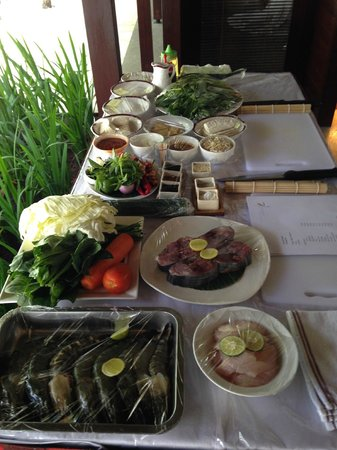 Kayumanis Jimbaran Private Estate & Spa: Cooking class - start