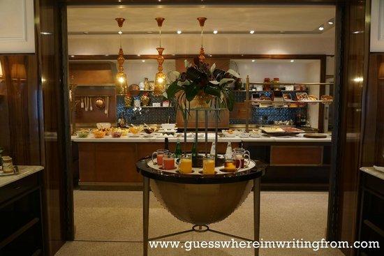 Belmond Hotel Cipriani: Very good breakfast buffet