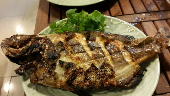 Cau Ba Quan: grilled chilli fish