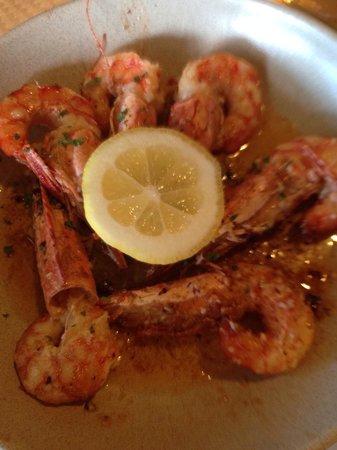 Gordinis: Shrimp & chilli sauce!