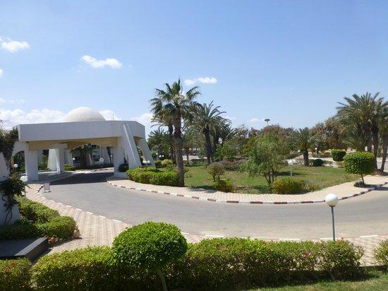 El Mouradi Djerba Menzel : ue de la terrasse de la chambre