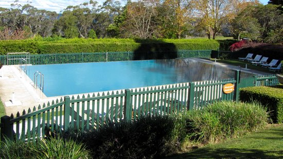 Lilianfels Blue Mountains Resort & Spa: Outdoor pool