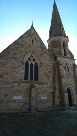 Rosebery, Australien: old church