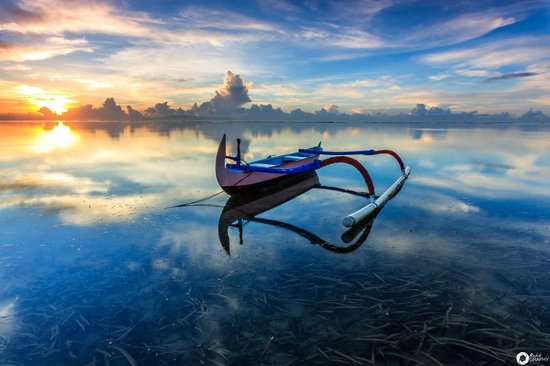 Sanur Beach : Sunrise in Sanur