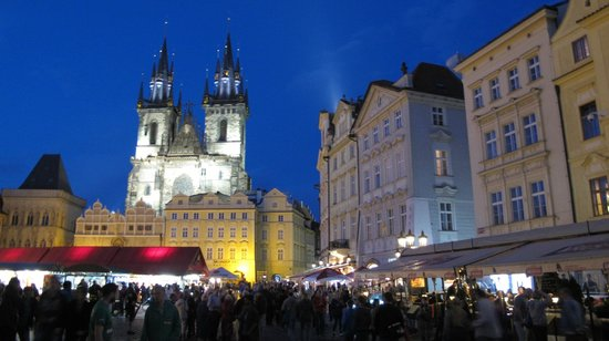 Panorama Hotel Prague: Piazza dell'Orologio