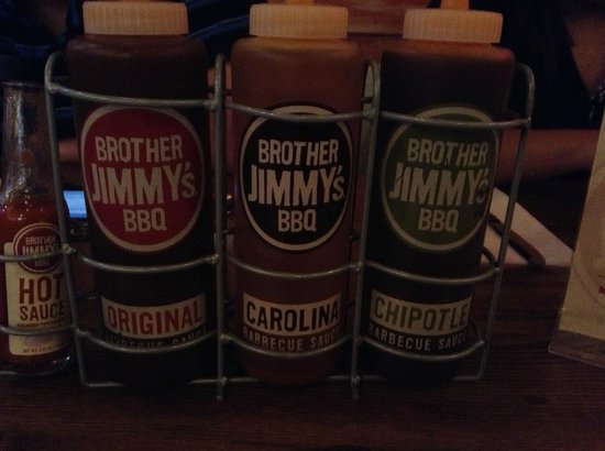 Brother Jimmy's: Love the sauce