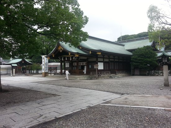 Masumida Shrine : 拝殿