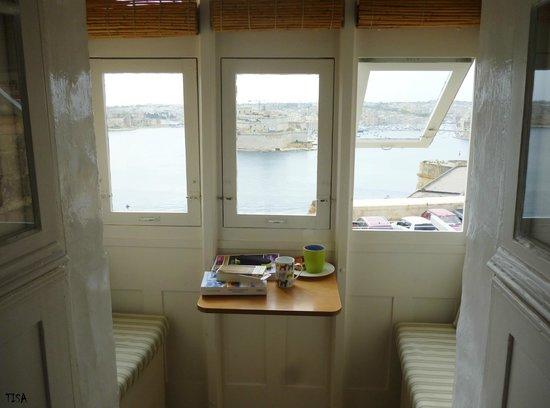 Valletta Studios: le balcon maltais