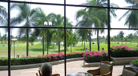 Eastern Star Golf Club: View from restaurant