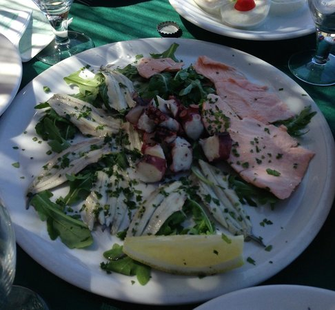 Arco D'Oro Bed & Breakfast : un delicato antipasto di pesce...