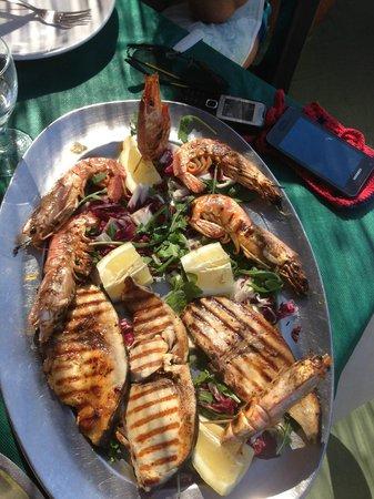 Arco D'Oro Bed & Breakfast : uno squisito piatto di mare...