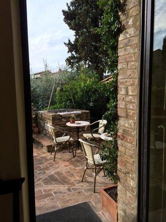 Hotel Palazzo del Capitano Exclusive Wellness & Relais : Scorcio giardino
