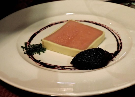 The Royal Oak : Fois Gras Pate with fig jelly