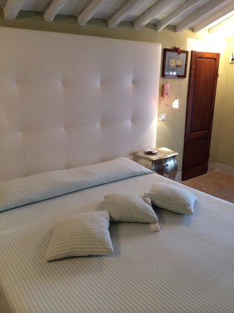 Hotel Palazzo del Capitano Exclusive Wellness & Relais : Letto