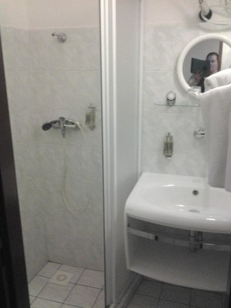 Hotel Waldstein : Bathroom always immaculate, very powerful shower!